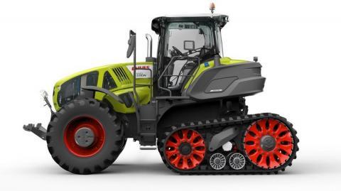Полугусеничный трактор CLAAS
