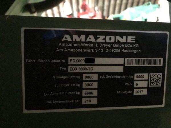 Пропашная сеялка AMAZONE EDX 9000-TC